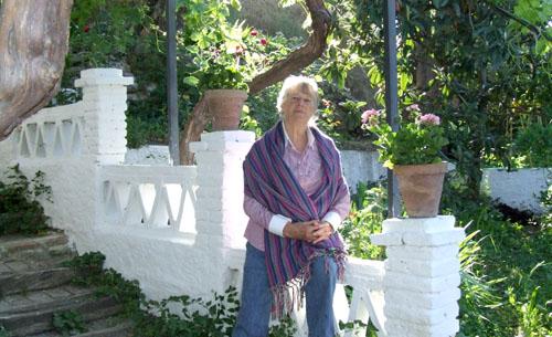 Maureen Booth, printmaker in Granada, Spain
