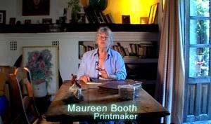 Maureen Booth, master printmaker