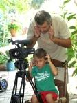 Juan Carlos Romera and his assistant director, Mario
