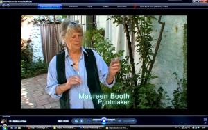 """Maureen's presentation for her """"Making a Chop"""" video"""