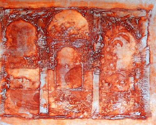 """""""El Patio del Harem,"""" the Alhambra"""