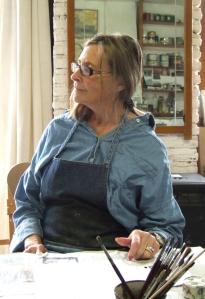 Australian artist, Lorna Burden