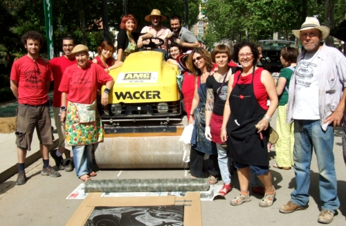 Printmakers from all over Europe meet in Granada to make big impressions.