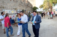 D. Federico Mayor Zaragoza inaugurated the first edtion of SaloArte.