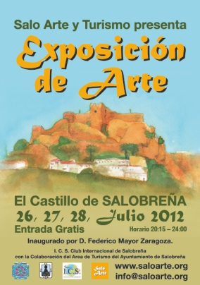 SaloArte exhibit poster