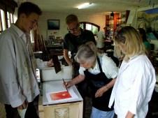 IB Bremen Solarplate Workshop, Day 3/3