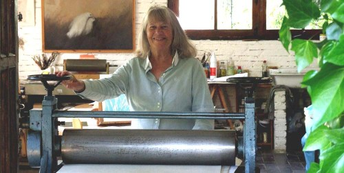 Maureen etching press